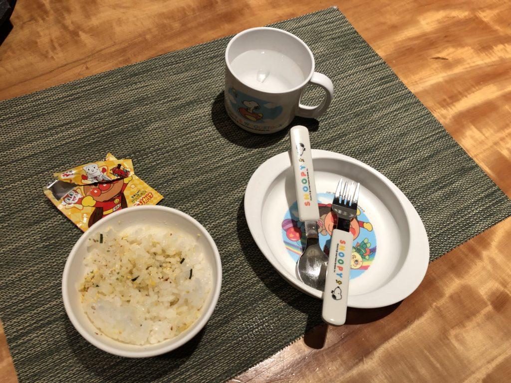 エクシブ京都 子供ご飯