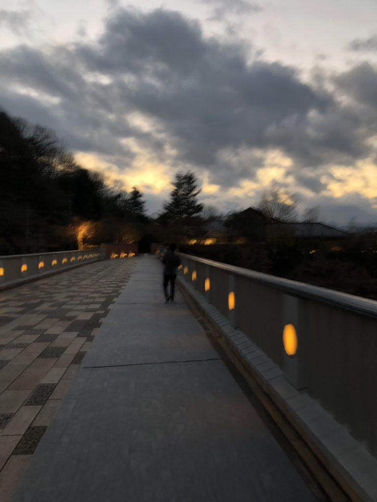 エクシブ京都 離れまでの道2