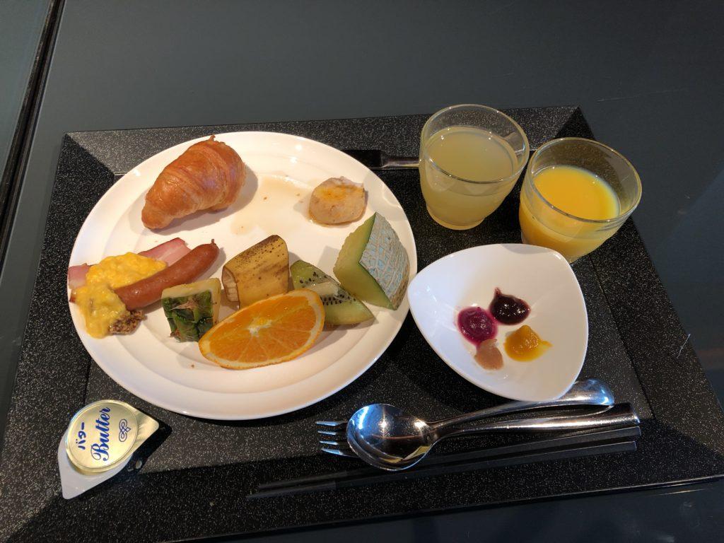 エクシブ京都 朝ご飯