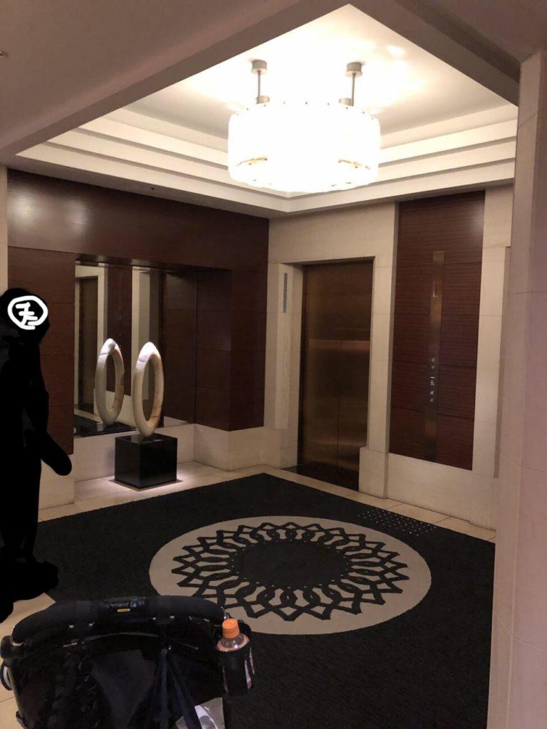 エクシブ京都 エレベーターホール前