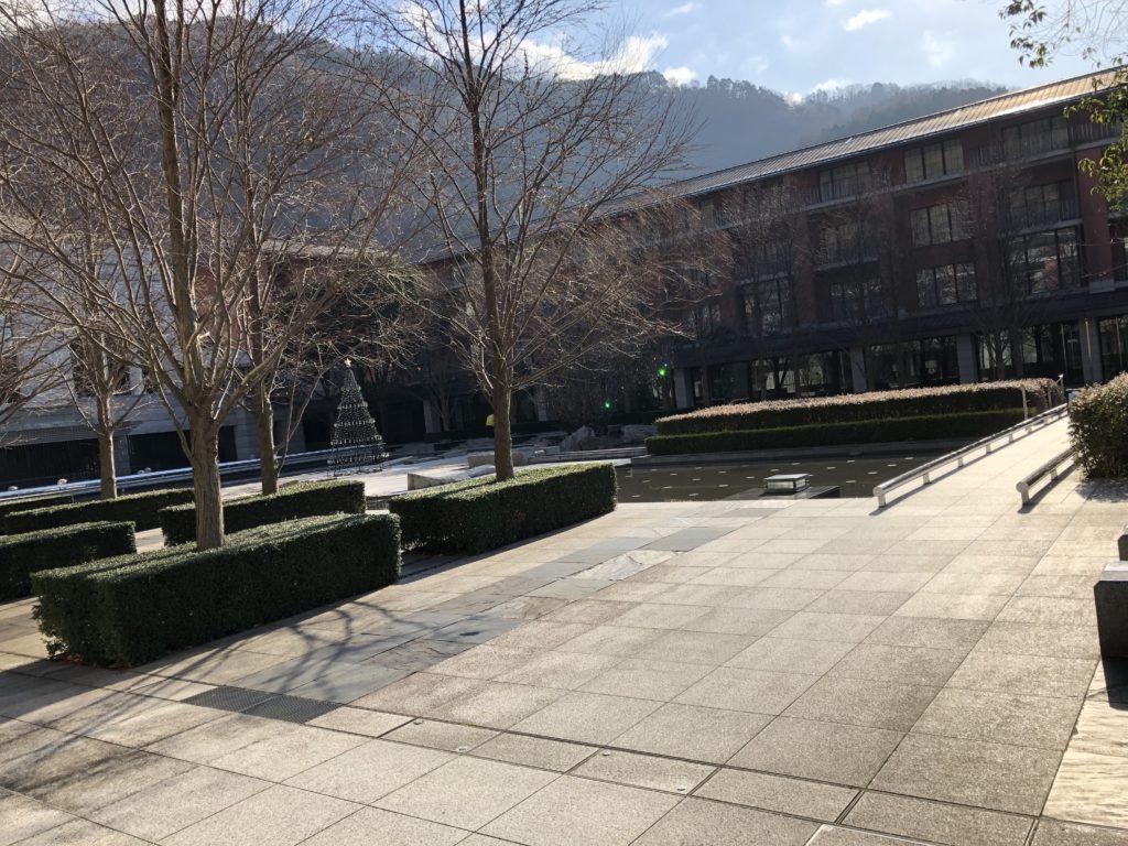 エクシブ京都 中庭