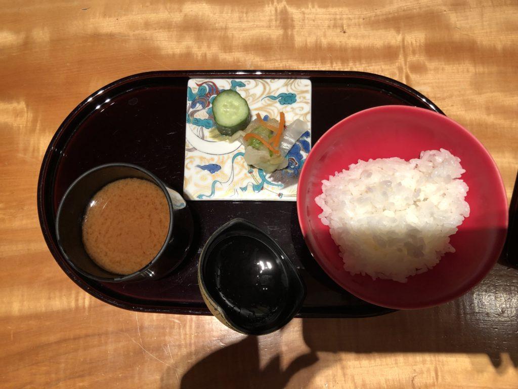 エクシブ京都 お味噌汁