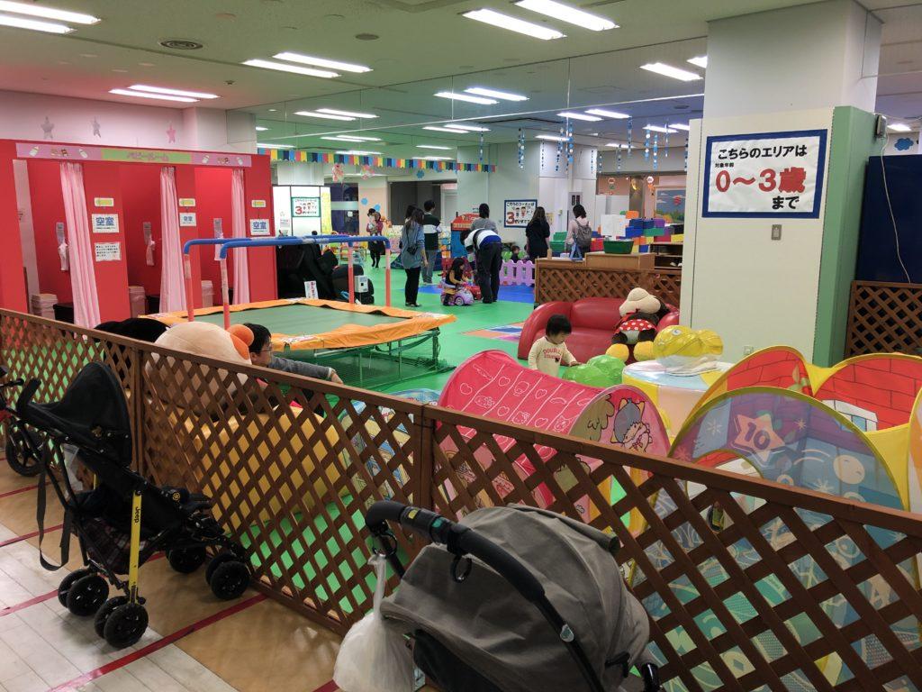 大阪南港あそびマーレ 4階赤ちゃん広場